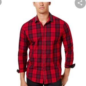 I.N.C. Mens Night Out Dress Shirt